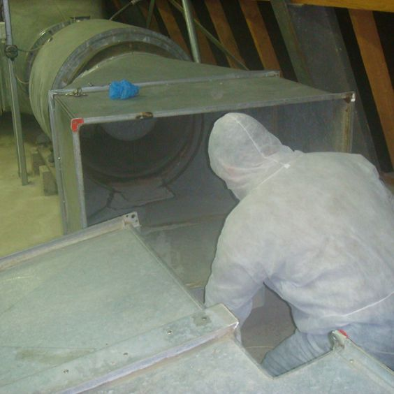 Internal Duct Cleaning